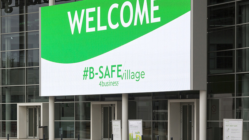 Campaigns #B-SAFE4business Koelnmesse